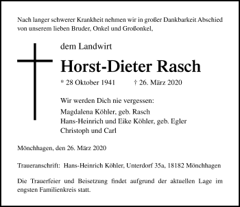 Horst-Dieter Rasch