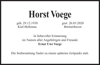 Horst Voege