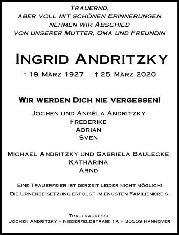 Ingrid Andritzky