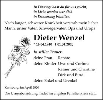 Dieter Wenzel