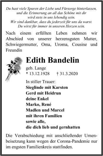 Edith Bandelin