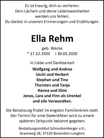 Ella Rehm