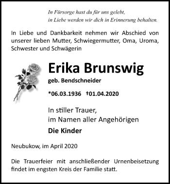 Erika Brunswig