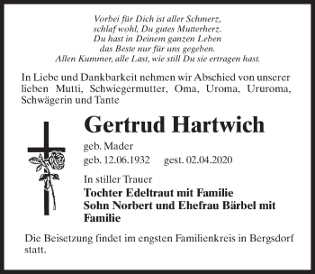 Gertrud Hartwich