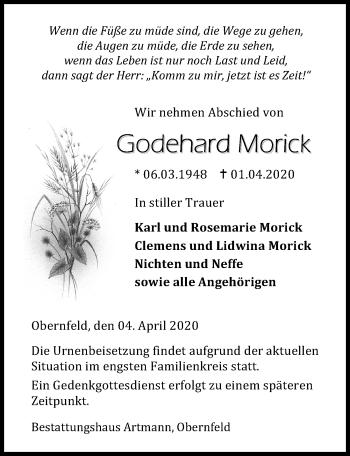 Godehard Morick
