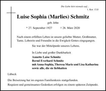 Luise Sophia Schmitz