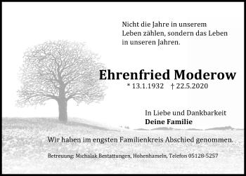 Ehrenfried Moderow