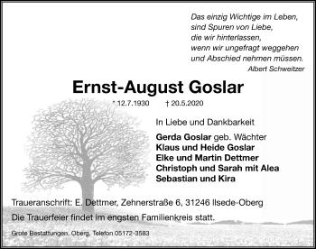 Ernst-August Goslar
