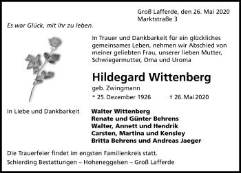 Hildegard Wittenberg