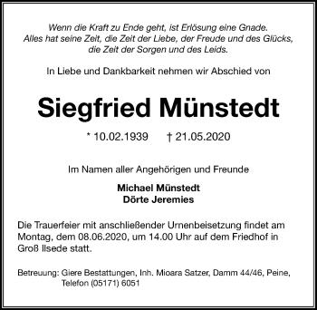 Siegfried Münstedt