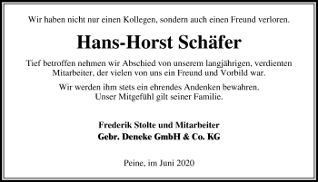 Hans-Horst Schäfer