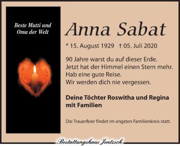 Anna Sabat