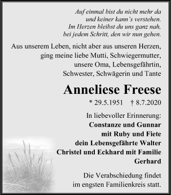 Anneliese Freese