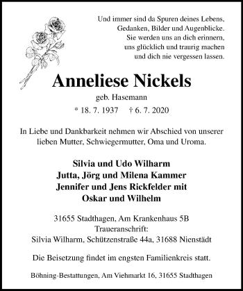 Anneliese Nickels