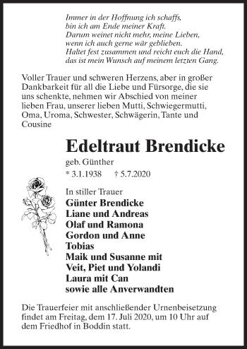 Edeltraut Brendicke