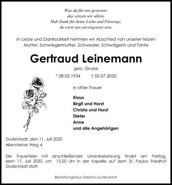 Gertraud Leinemann