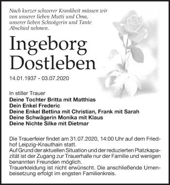Ingeborg Dostleben