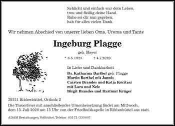 Ingeburg Plagge