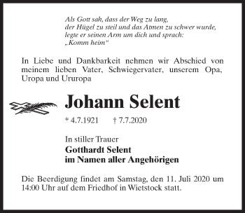 Johann Selent