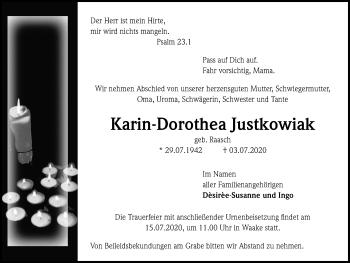 Karin-Dorothea Justkowiak