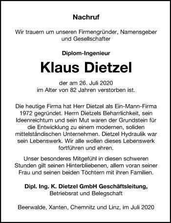 Klaus Dietzel