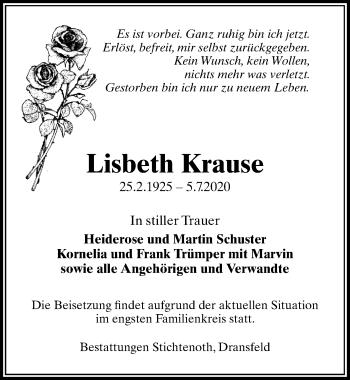 Lisbeth Krause