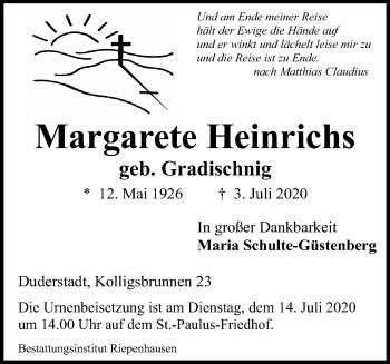 Margarete Heinrichs