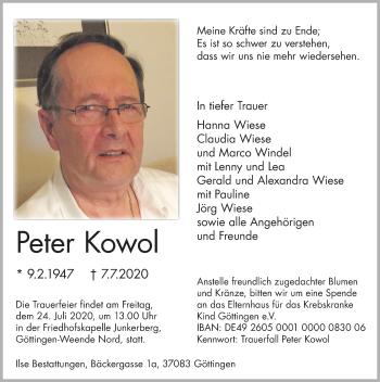 Peter Kowol
