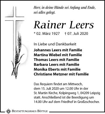 Rainer Leers