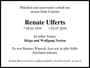 Renate Ulferts