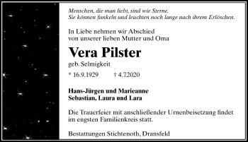 Vera Pilster