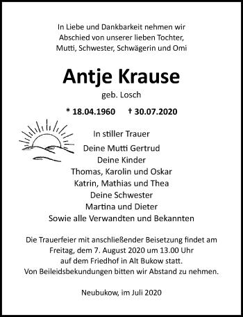 Antje Krause