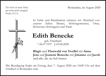 Edith Benecke