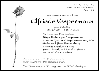 Elfriede Vespermann