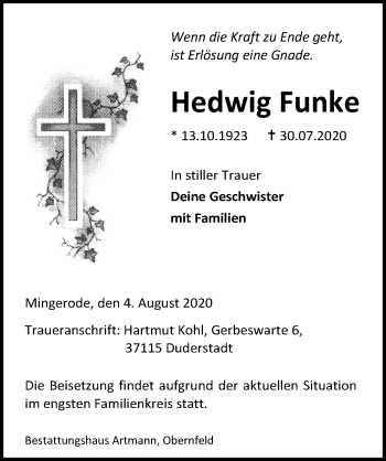 Hedwig Funke