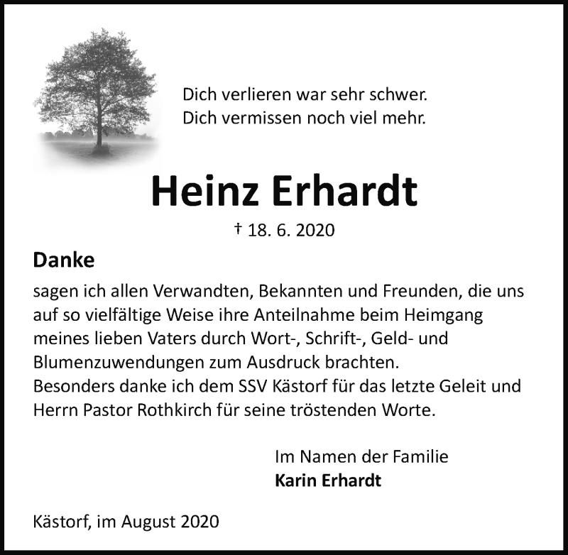 Traueranzeigen Von Heinz Erhardt Trauer Anzeigen De
