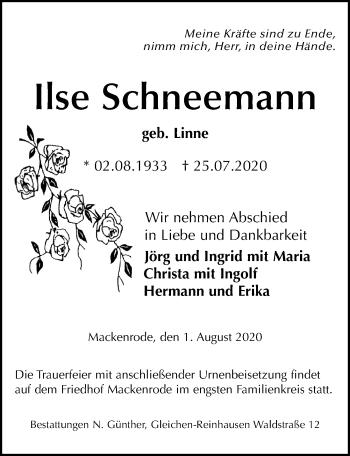 Ilse Schneemann