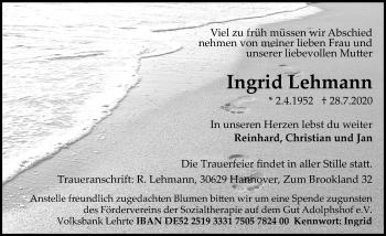 Ingrid Lehmann