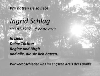Ingrid Schlag