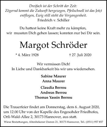 Margot Schröder