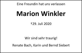Marion Winkler