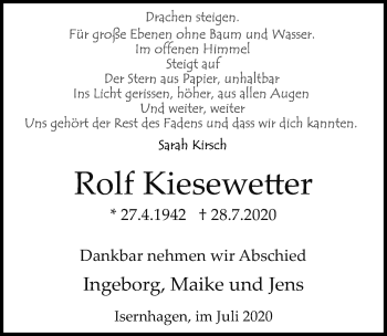 Rolf Kiesewetter