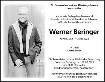 Werner Beringer