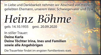 Heinz Böhme