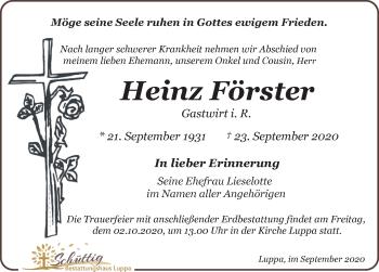 Heinz Förster