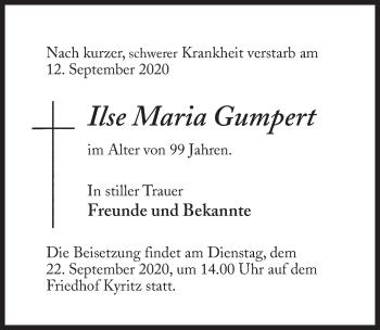 Ilse Maria Gumpert