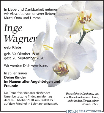 Inge Wagner