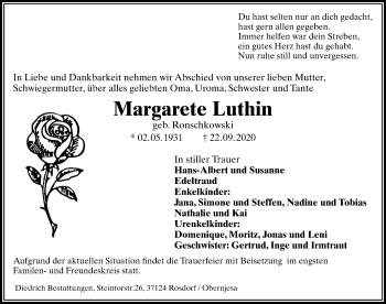 Margarete Luthin