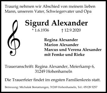 Sigurd Alexander