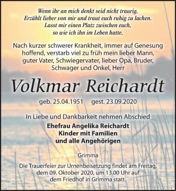 Volkmar Reichardt